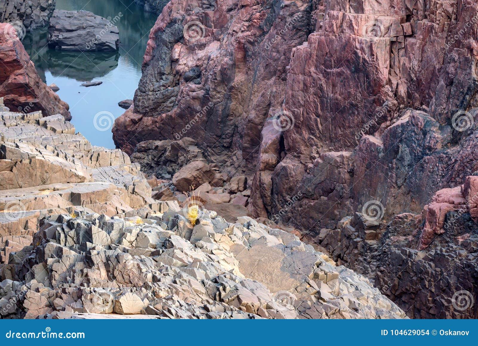 Download Mooi Indisch Landschap In Gharial-Heiligdom Stock Foto - Afbeelding bestaande uit dood, installatie: 104629054