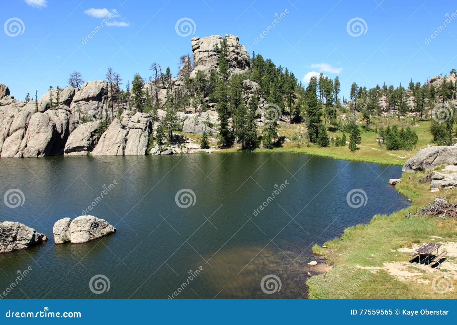 Mooi landschap in Sylvan Lake