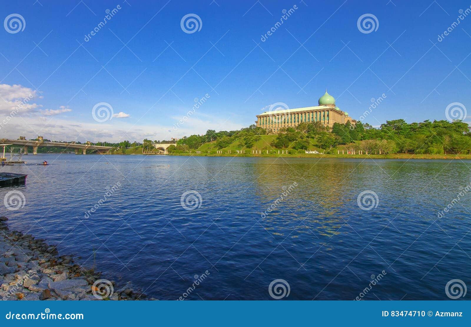 Mooi meer in Putrajaya Maleisië