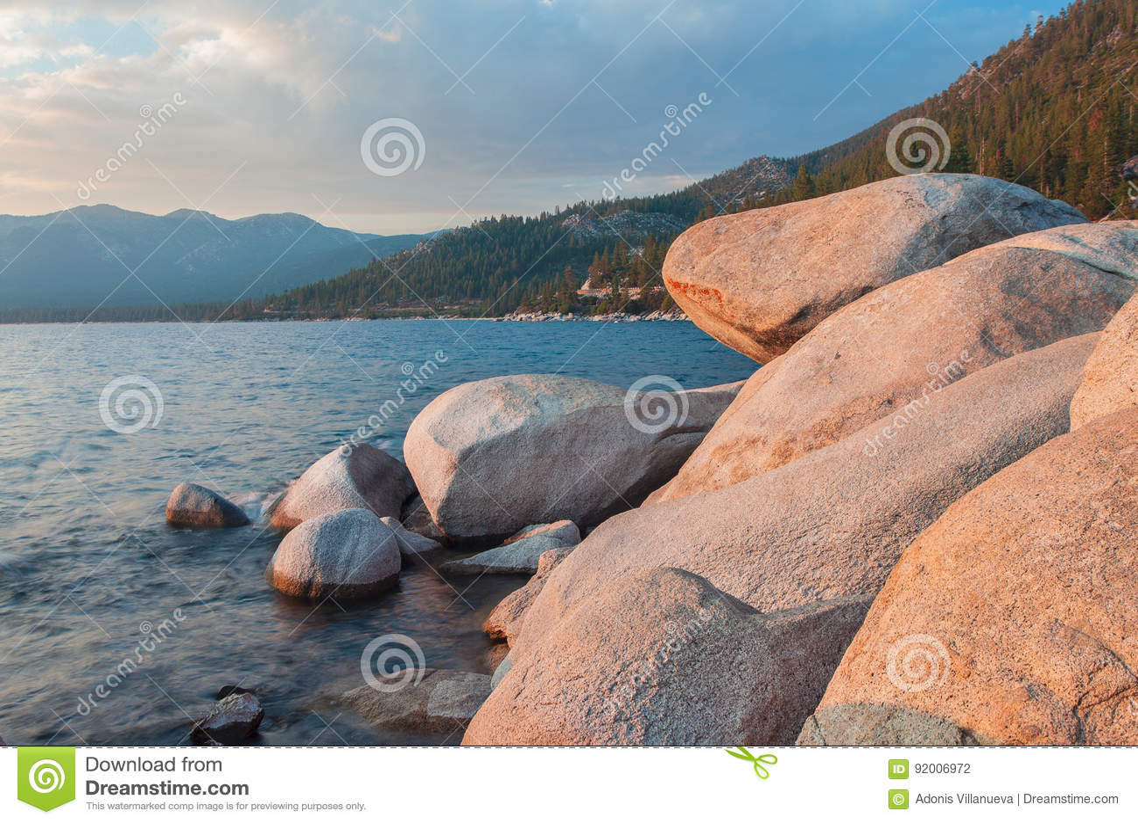 Mooi Meer Tahoe Californië