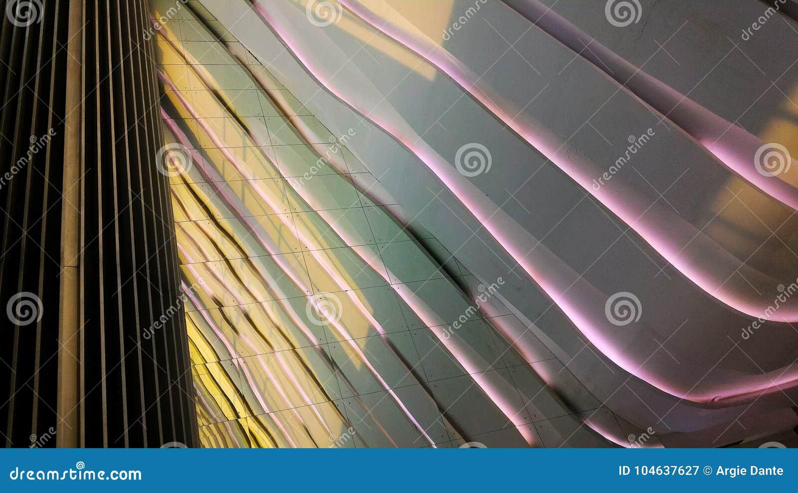 Download Mooi Modern Architectuurontwerp Stock Afbeelding - Afbeelding bestaande uit lijnen, muren: 104637627