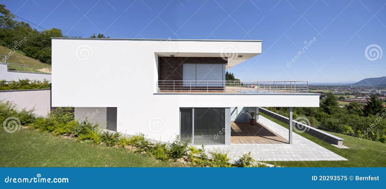 Mooi modern huis stock afbeelding afbeelding bestaande uit building 20293575 - Mooi huis ...