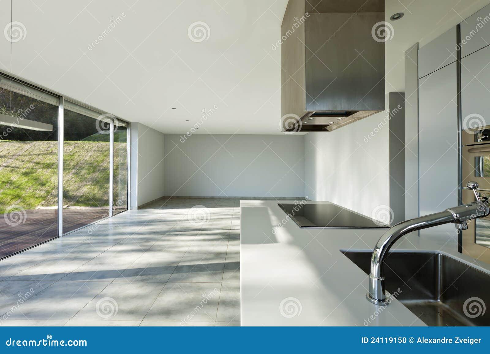 Mooi modern huis keuken stock foto afbeelding bestaande uit flat 24119150 - Mooi huis ...