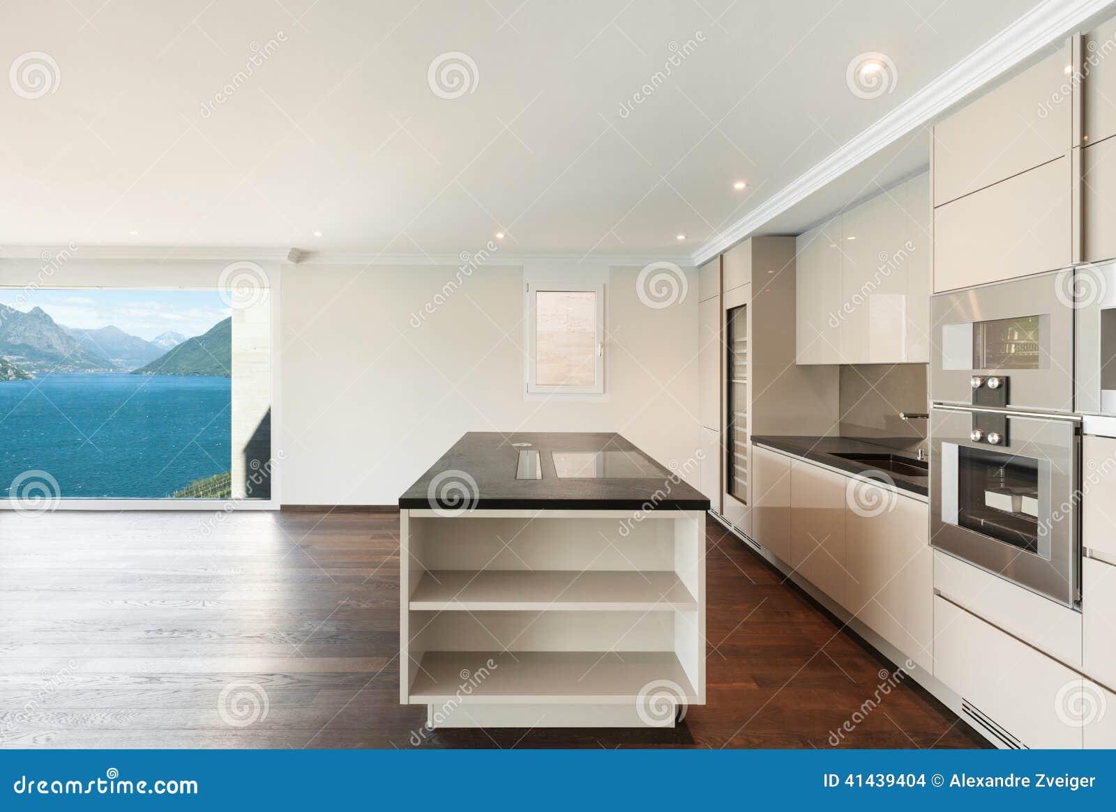 Mooi modern huis keuken stock foto beeld 41439404 - Mooi huis ...