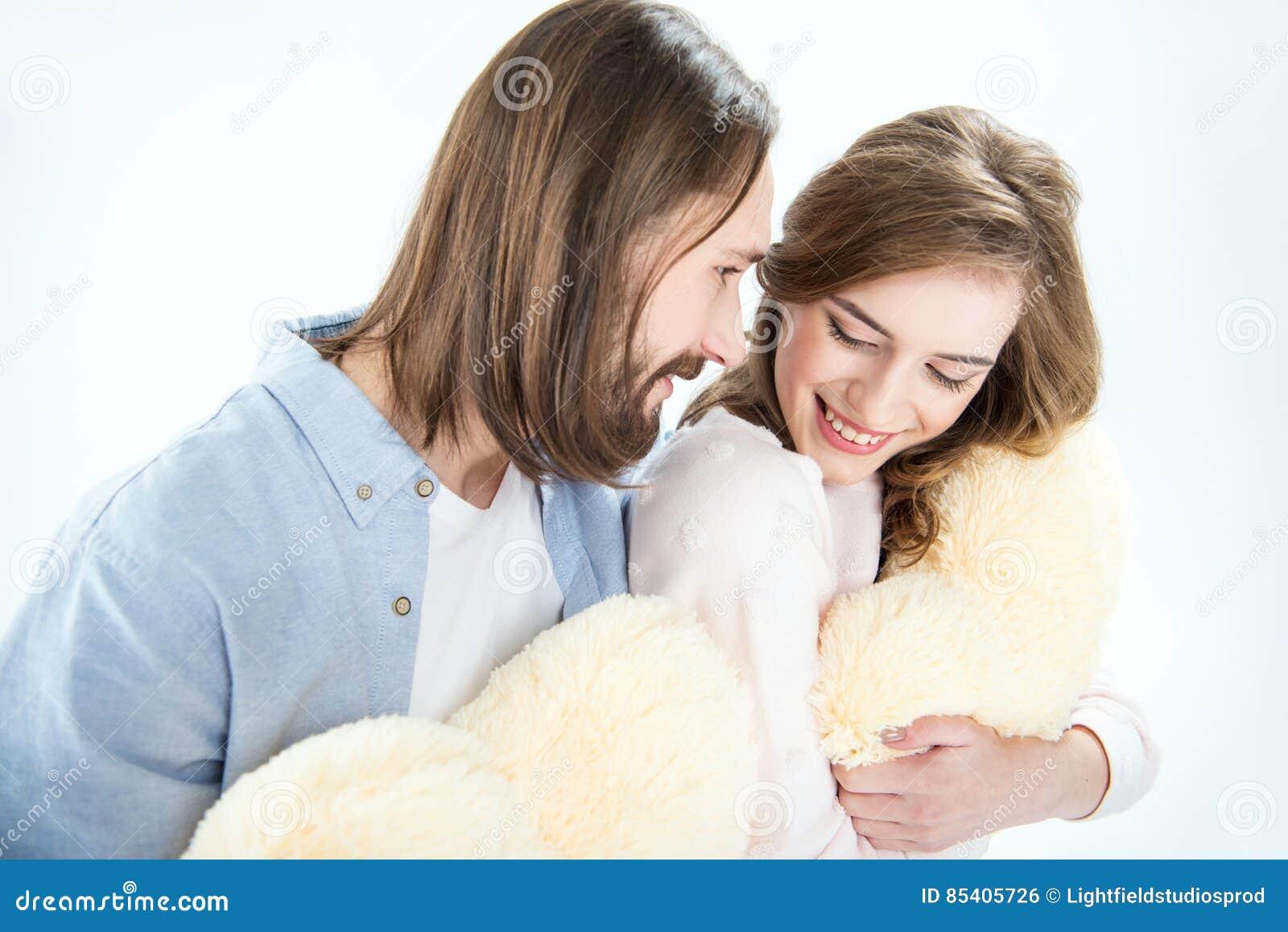 Mooi paar in liefde