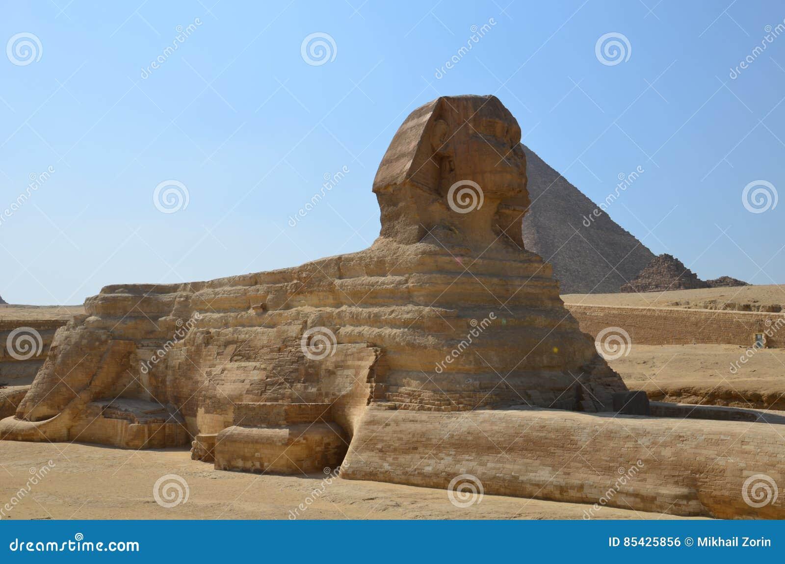 Mooi profiel van de Grote Sfinx