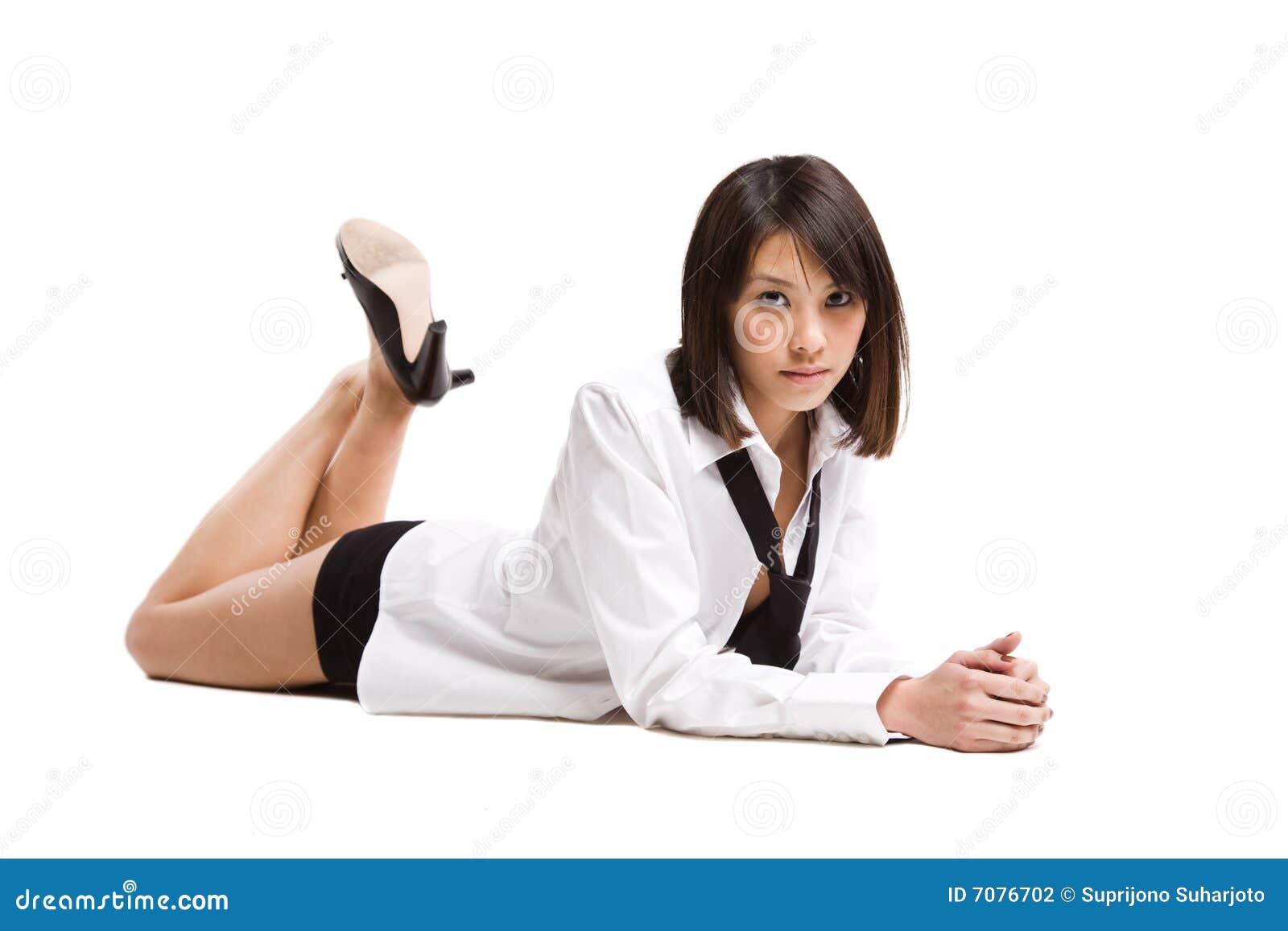 Mooi sexy Aziatisch meisje