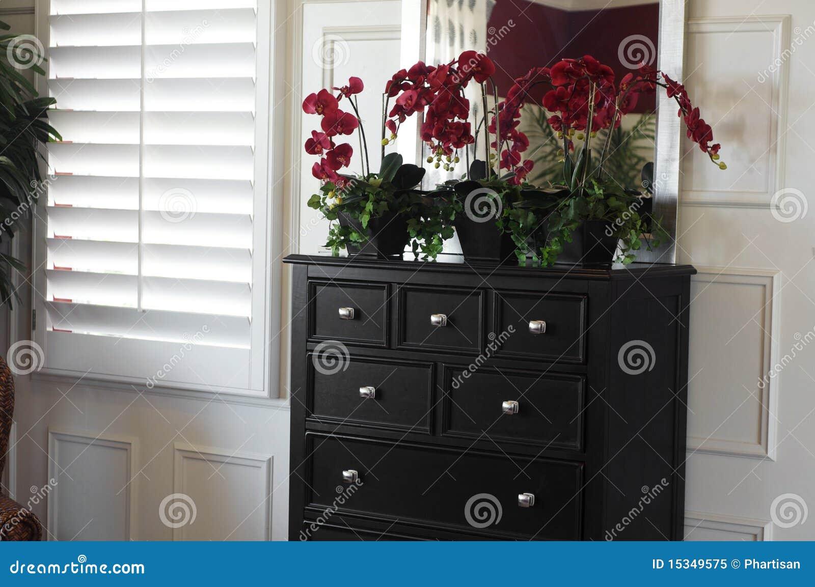 Mooi slaapkamer binnenlands ontwerp royalty vrije stock foto ...