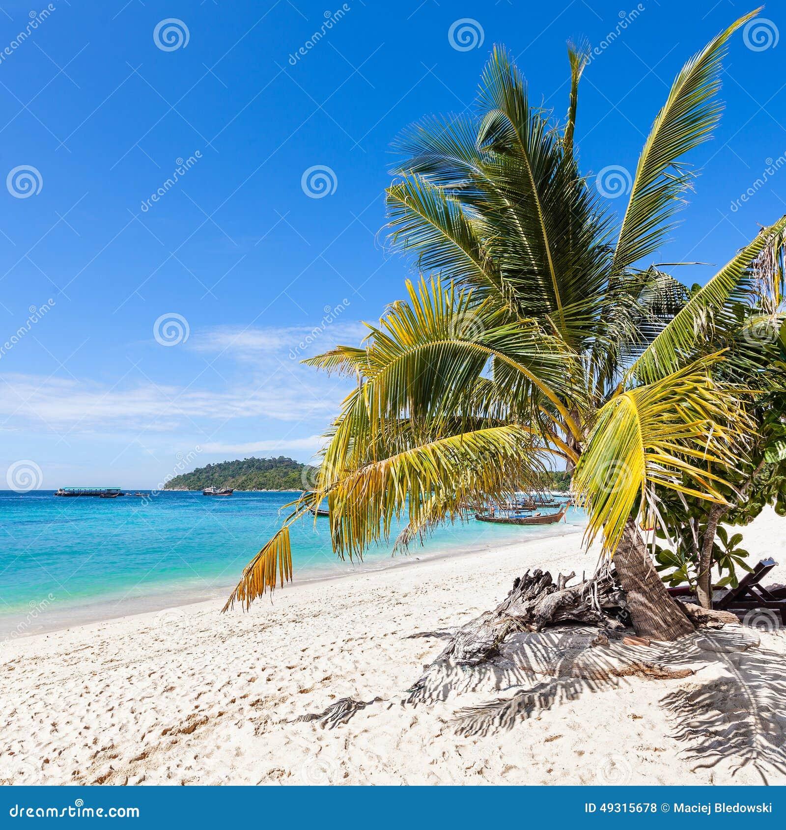 Mooi tropisch eiland, Koh Lipe in Thailand