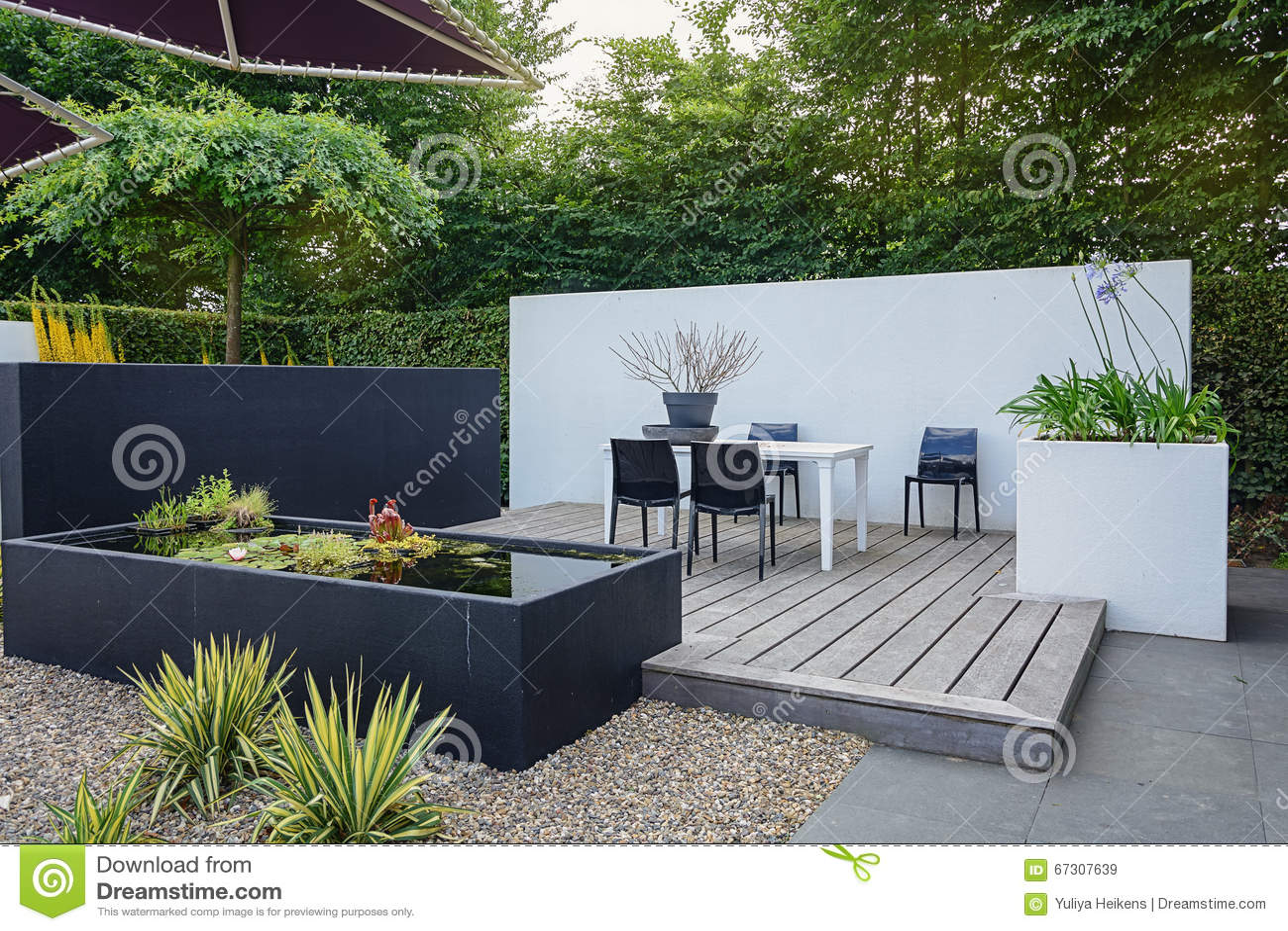 Mooi tuinidee redactionele stock afbeelding afbeelding bestaande