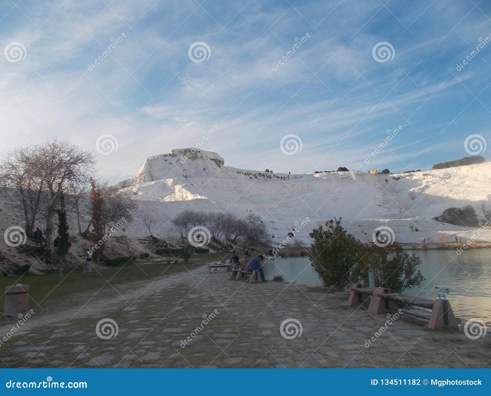 Mooi Weergeven van Pamukkale Hierapolis