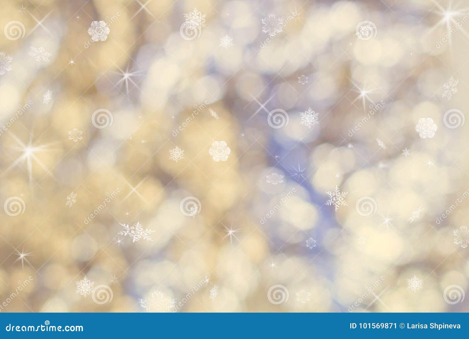 Mooie abstracte Kerstmisachtergrond van vakantielichten