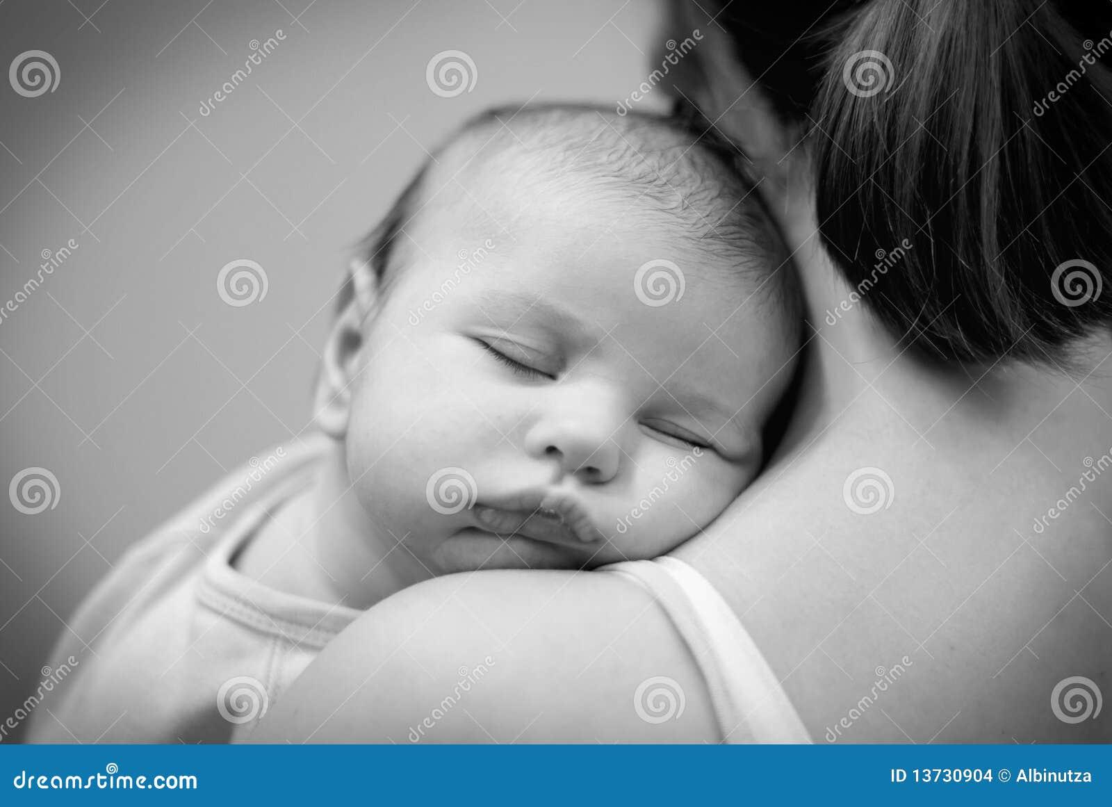 Mooie babyslaap