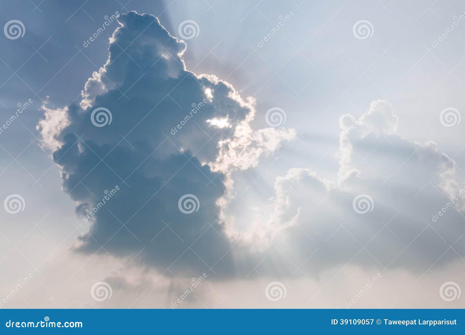 Mooie blauwe hemel