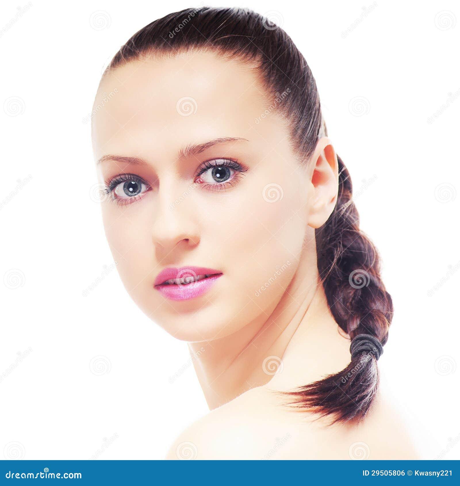 Mooie brunette