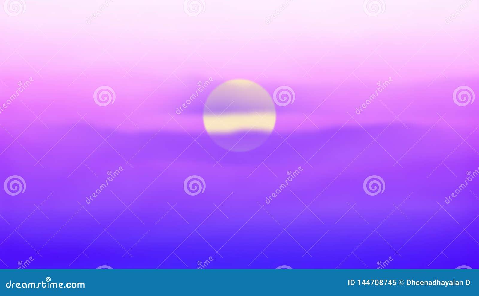 Mooie cloudscape over het overzees, zonsopgang schoot ongelooflijk mooie zonsondergang Zon, hemel, meer Zonsondergang of zonsopga