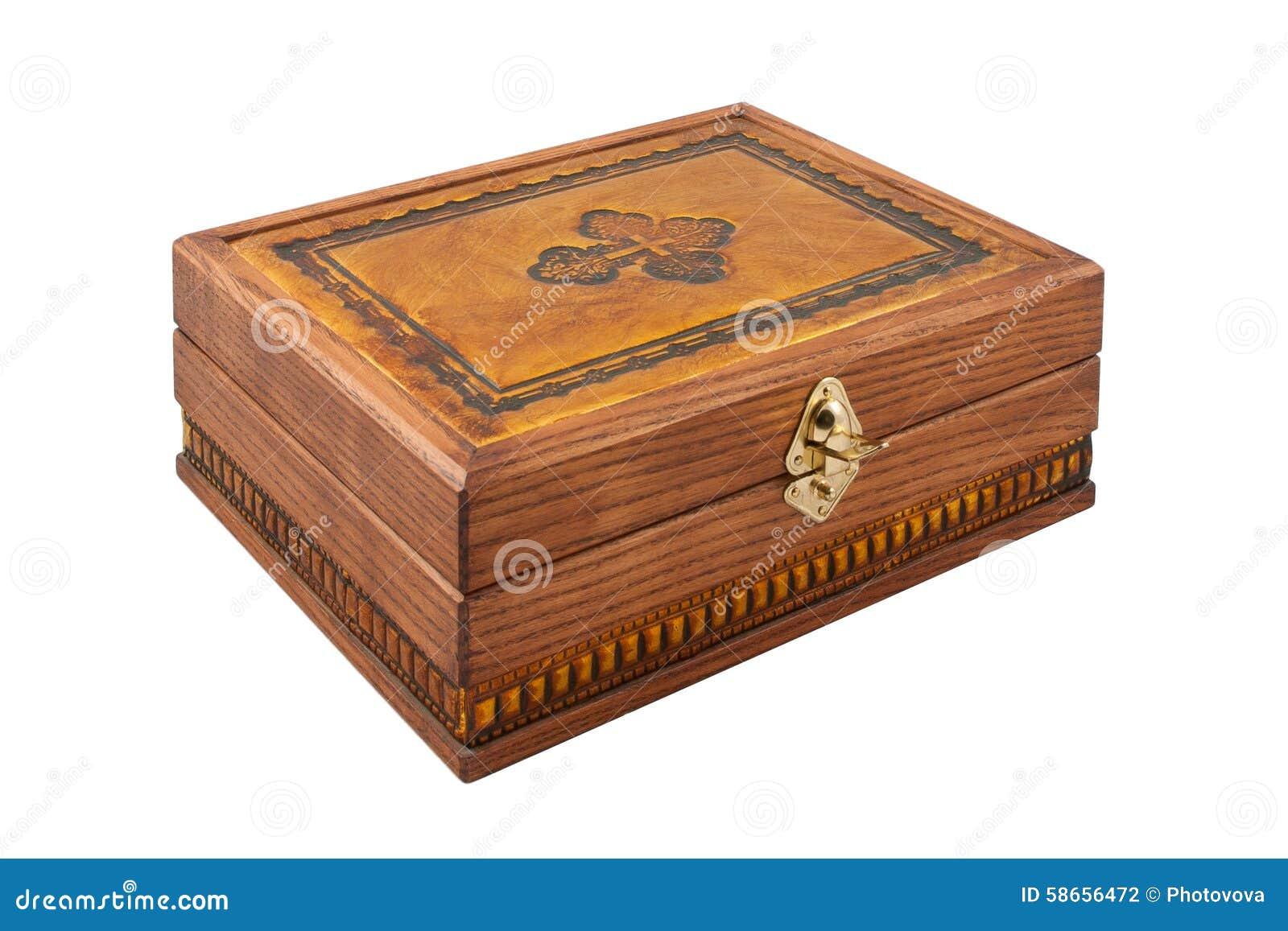 Mooie Houten Box.Mooie Gesneden Houten Kist Stock Foto Afbeelding Bestaande Uit