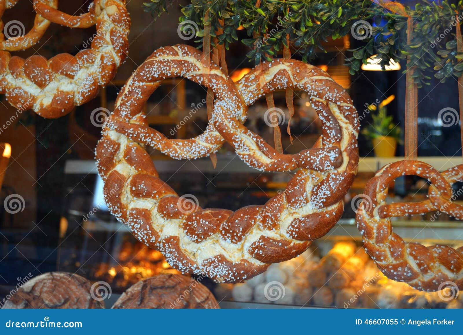 Mooie Gevlechte Duitse Pretzels