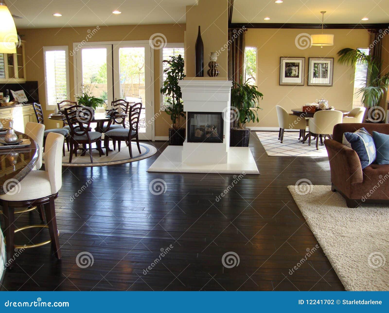 Mooie het dineren en van de familie zaal stock fotografie beeld 12241702 - Idee van de eetkamer ...
