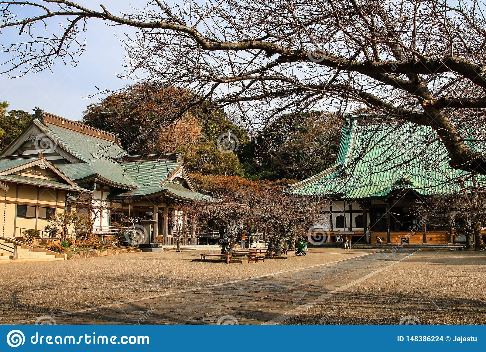 Mooie Japanse tempel in Kamakura