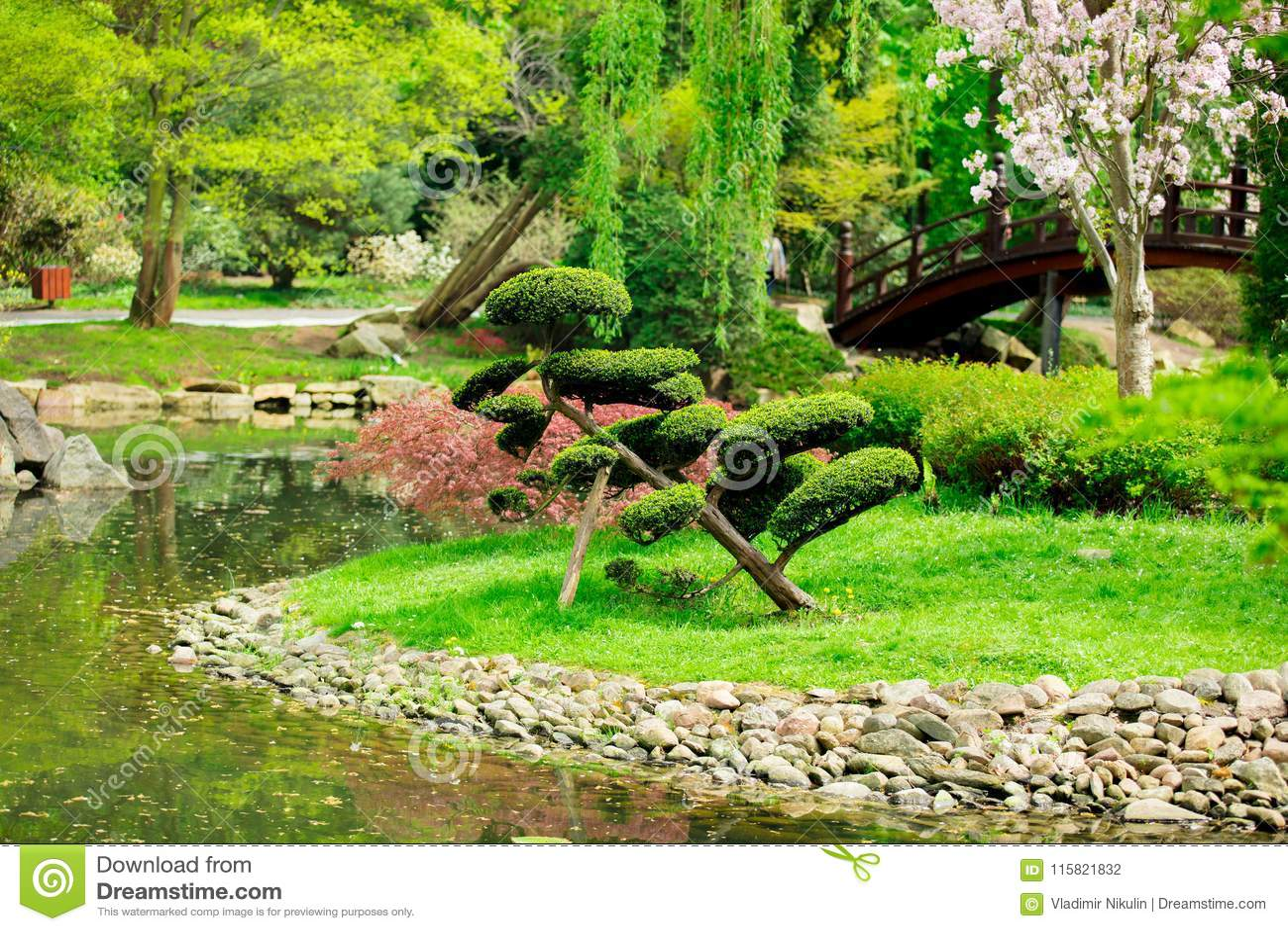 Japanse tuin en vijver stock photos 1 680 images for Tuin en vijver