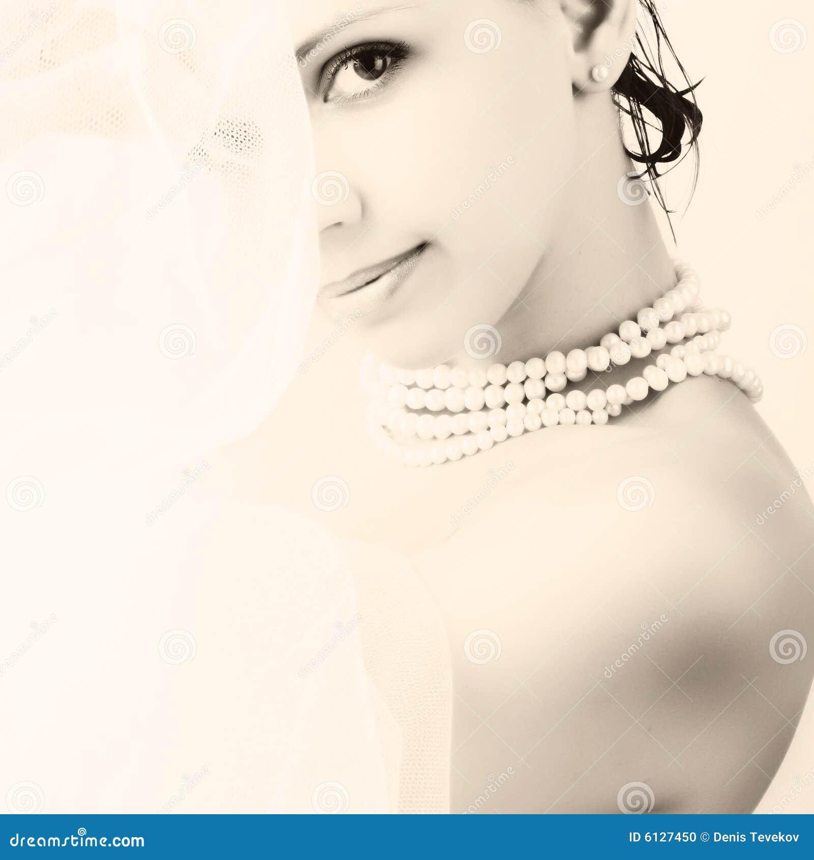 Mooie jonge vrouw