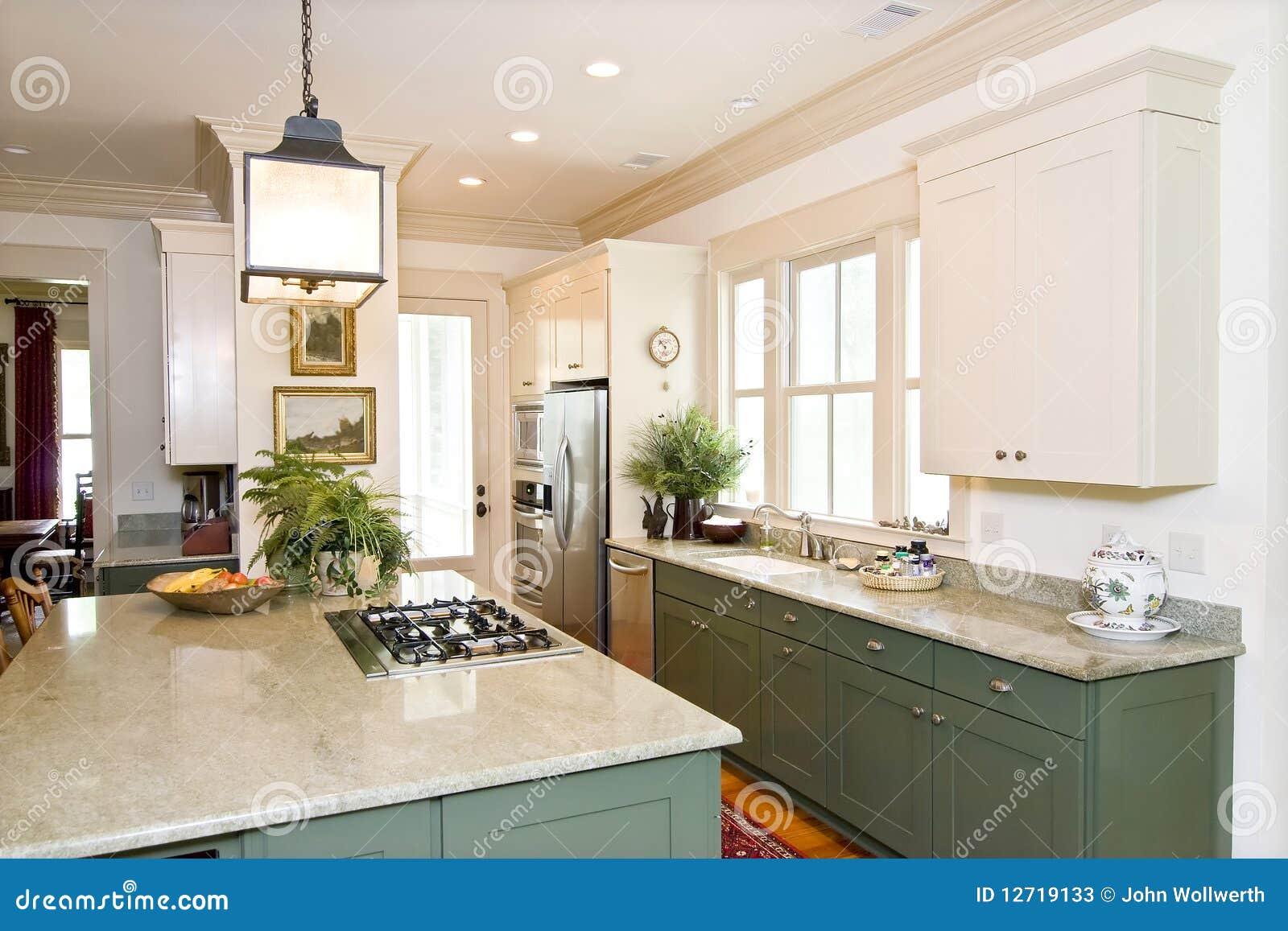 Mooie keuken stock foto's   afbeelding: 12719133