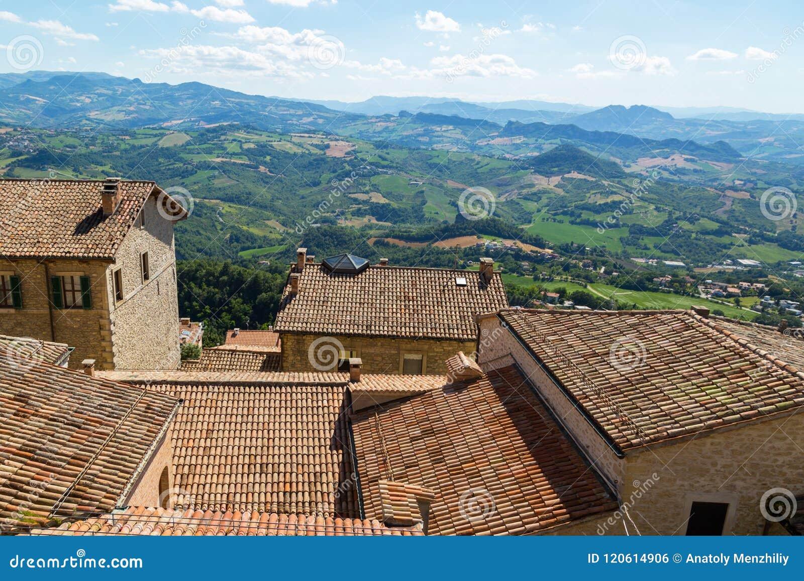 Mooie mening van San Marino