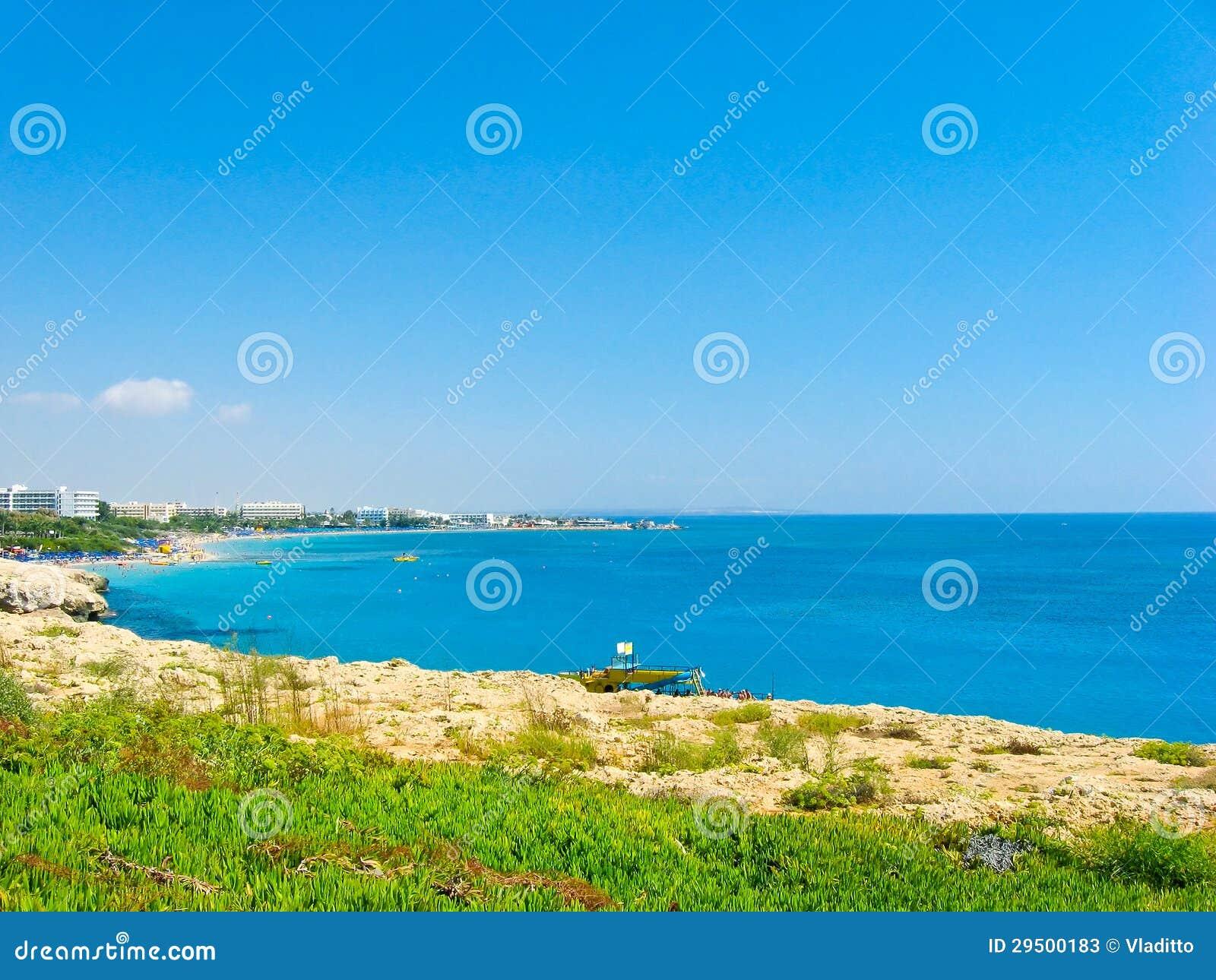 Mooie overzeese kust