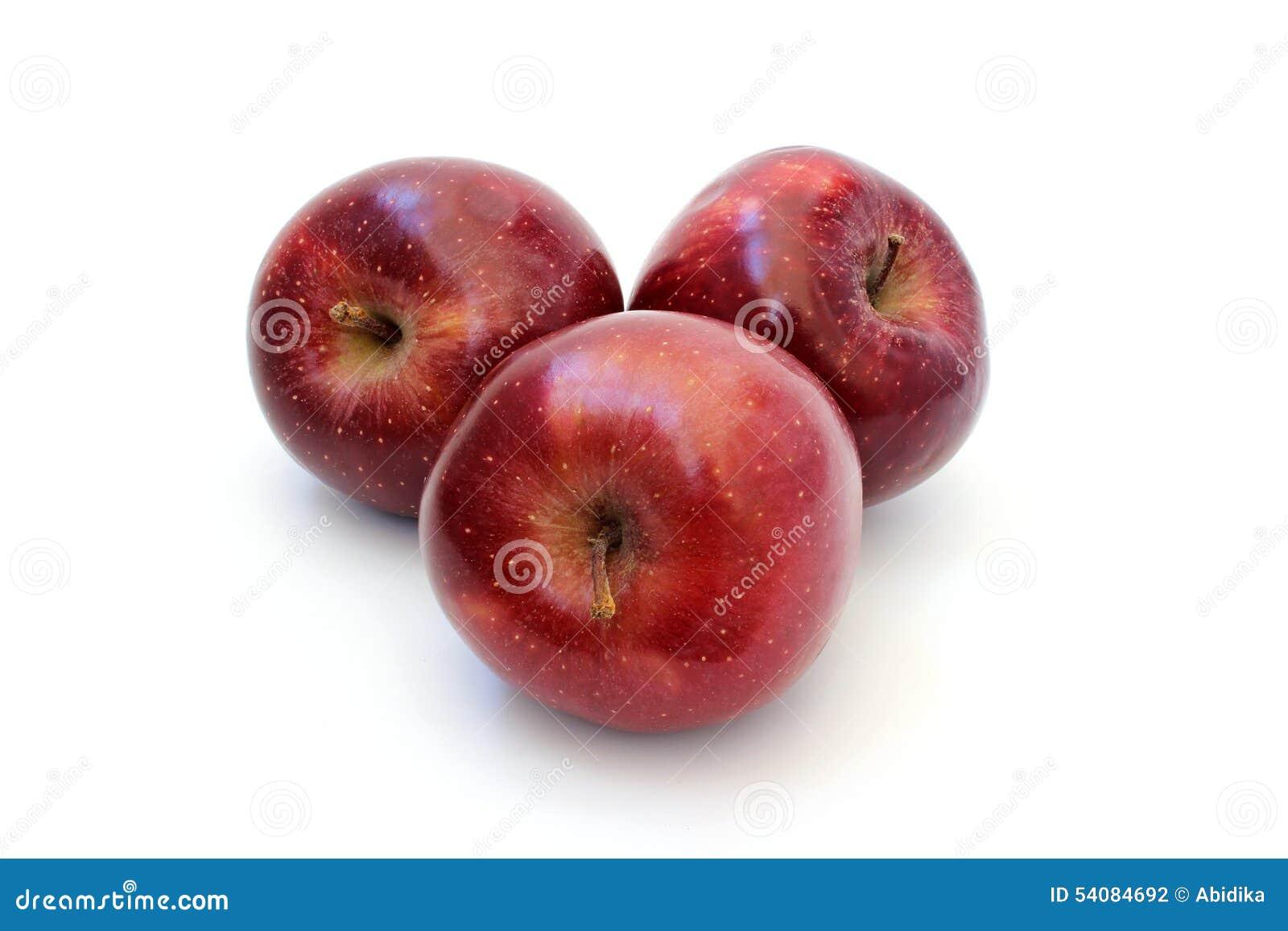 Mooie rijpe rode appelen