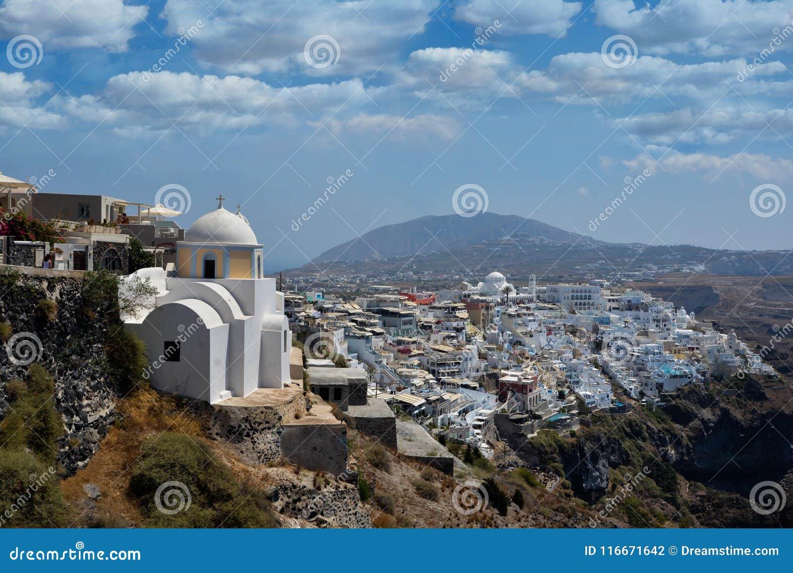 Mooie Santorini Griekenland