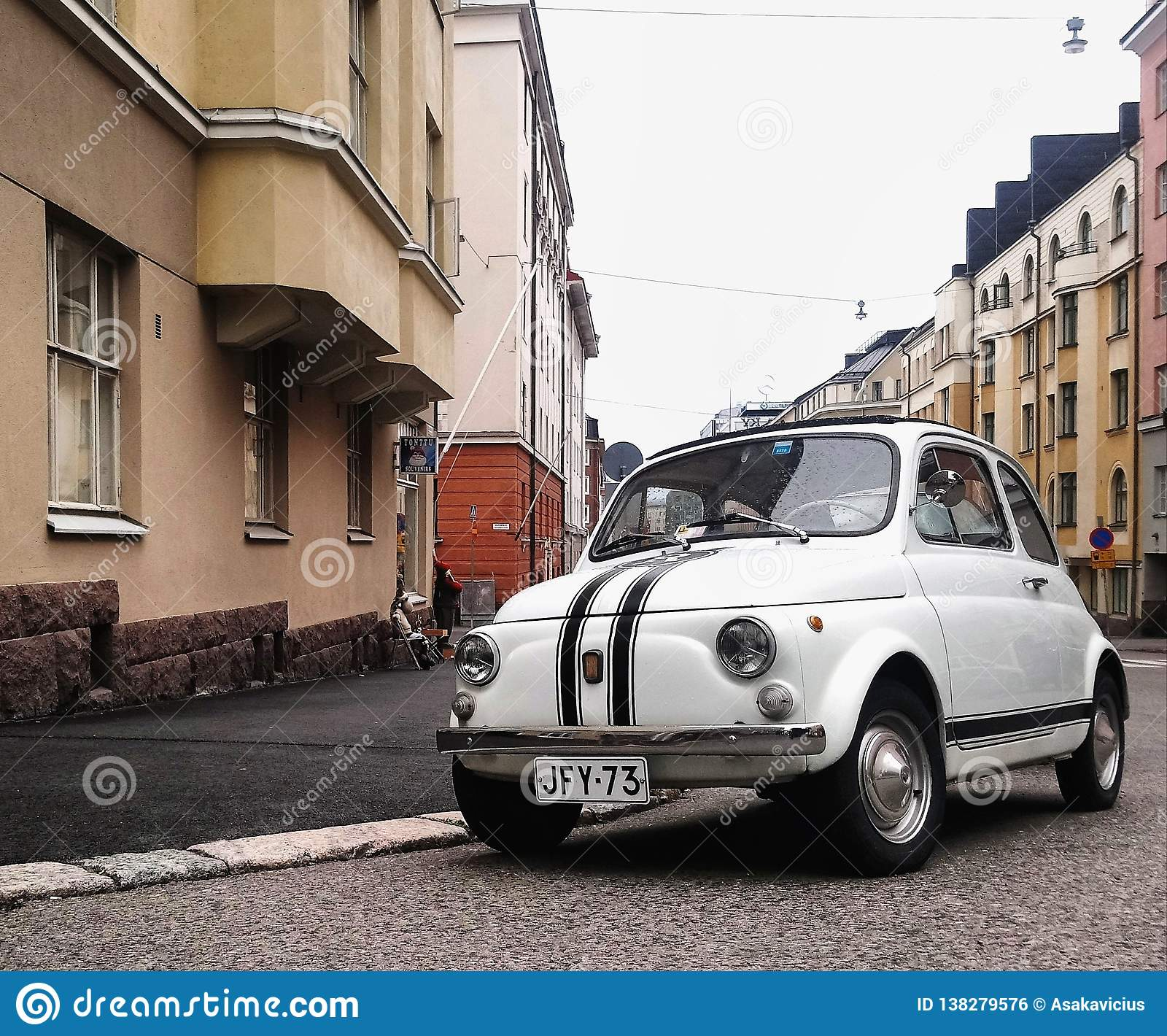 Mooie stad en weinig auto