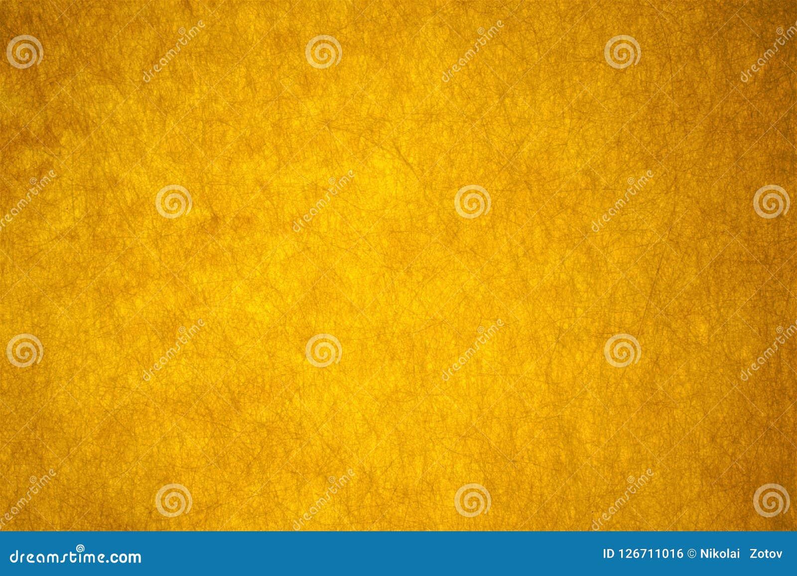 Mooie vezelige gele abstracte achtergrond