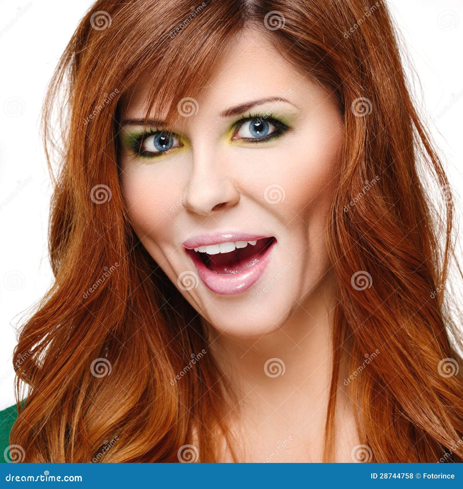 top dame rood haar