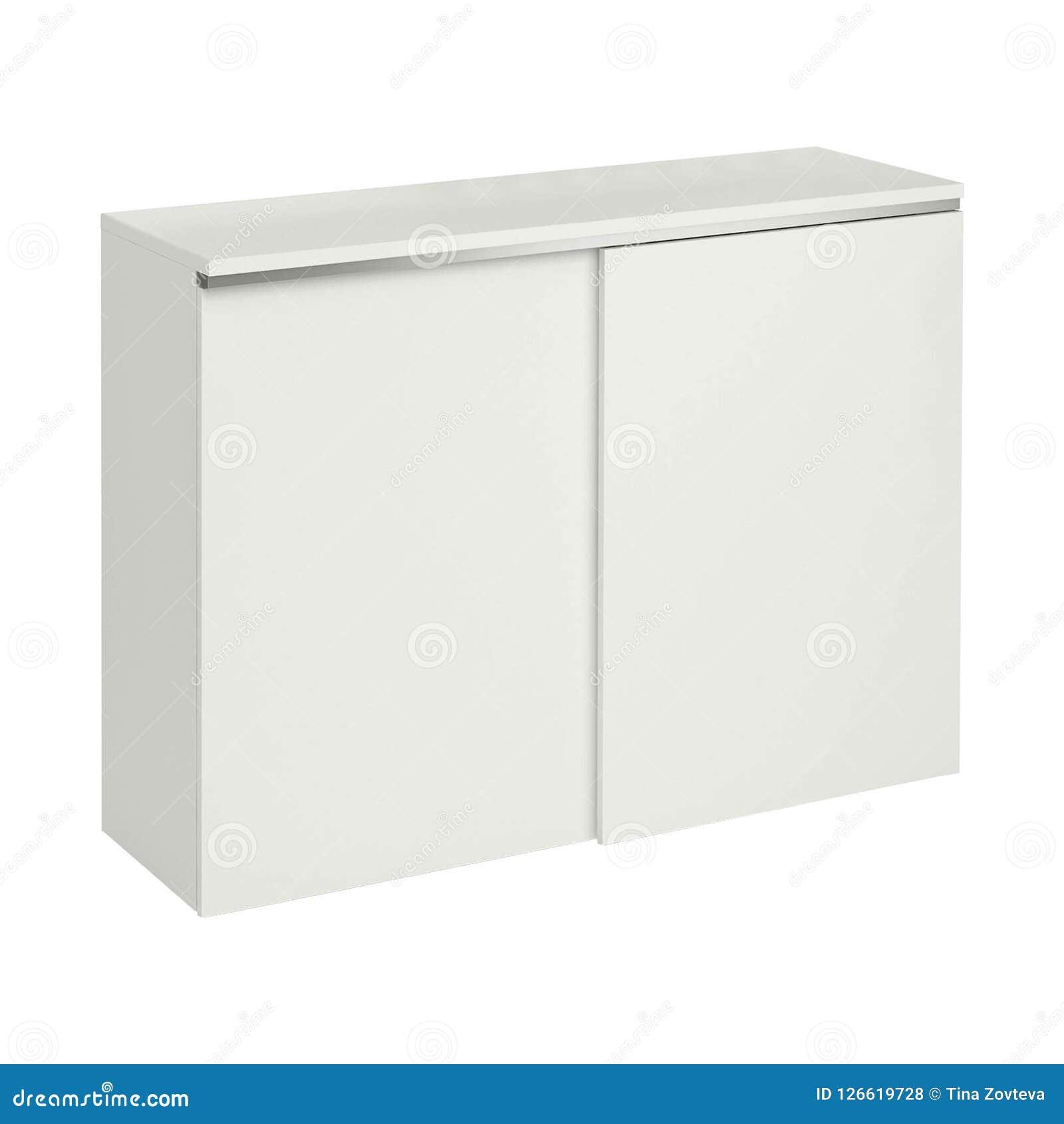 Mooie witte moderne kast
