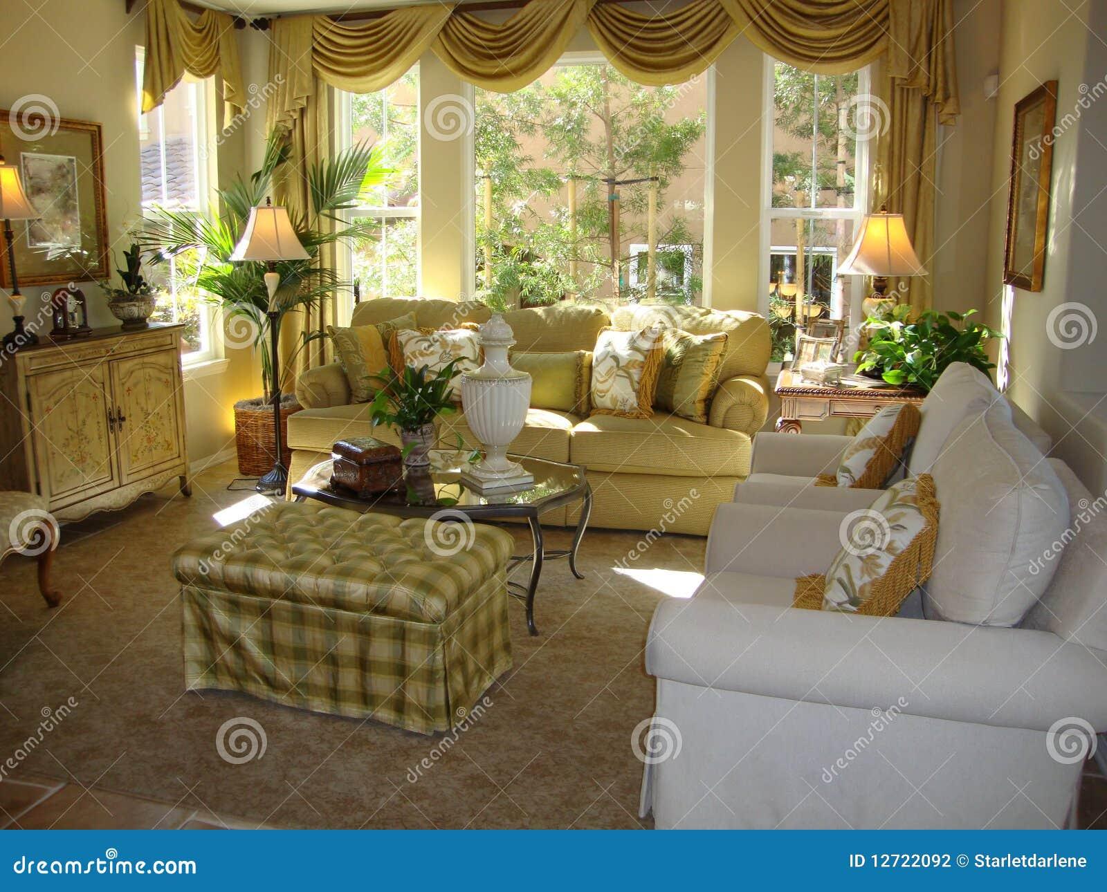 Mooie woonkamer stock fotografie afbeelding 12722092 - Woonkamer deco ...