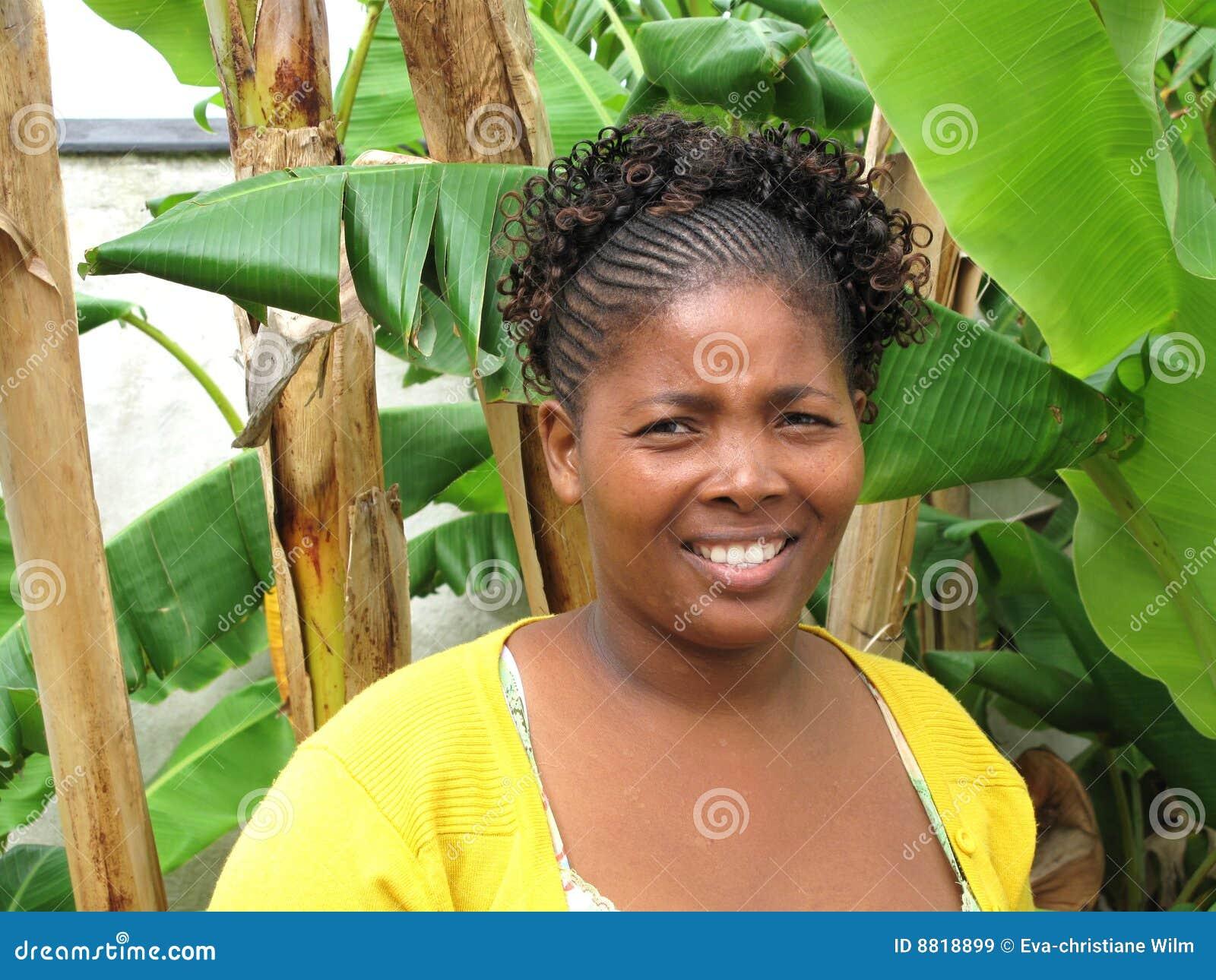 Mooie Zuidafrikaanse vrouw