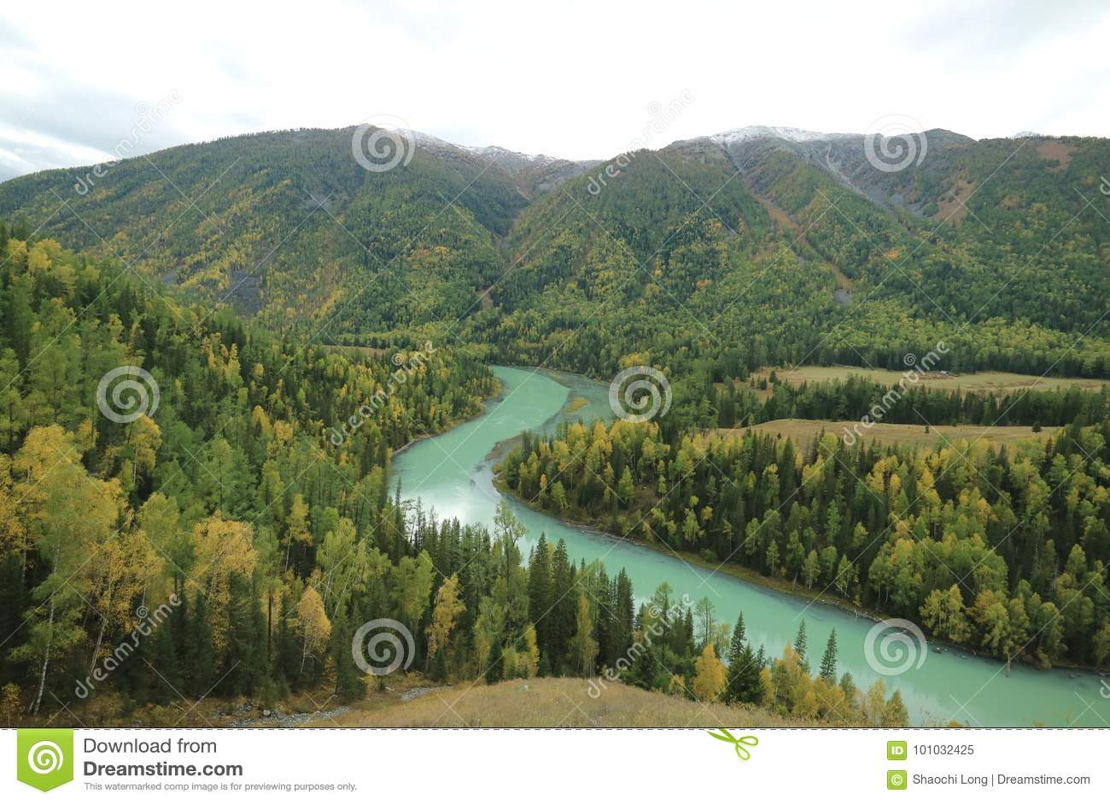 Moon Bay in Xinjiang