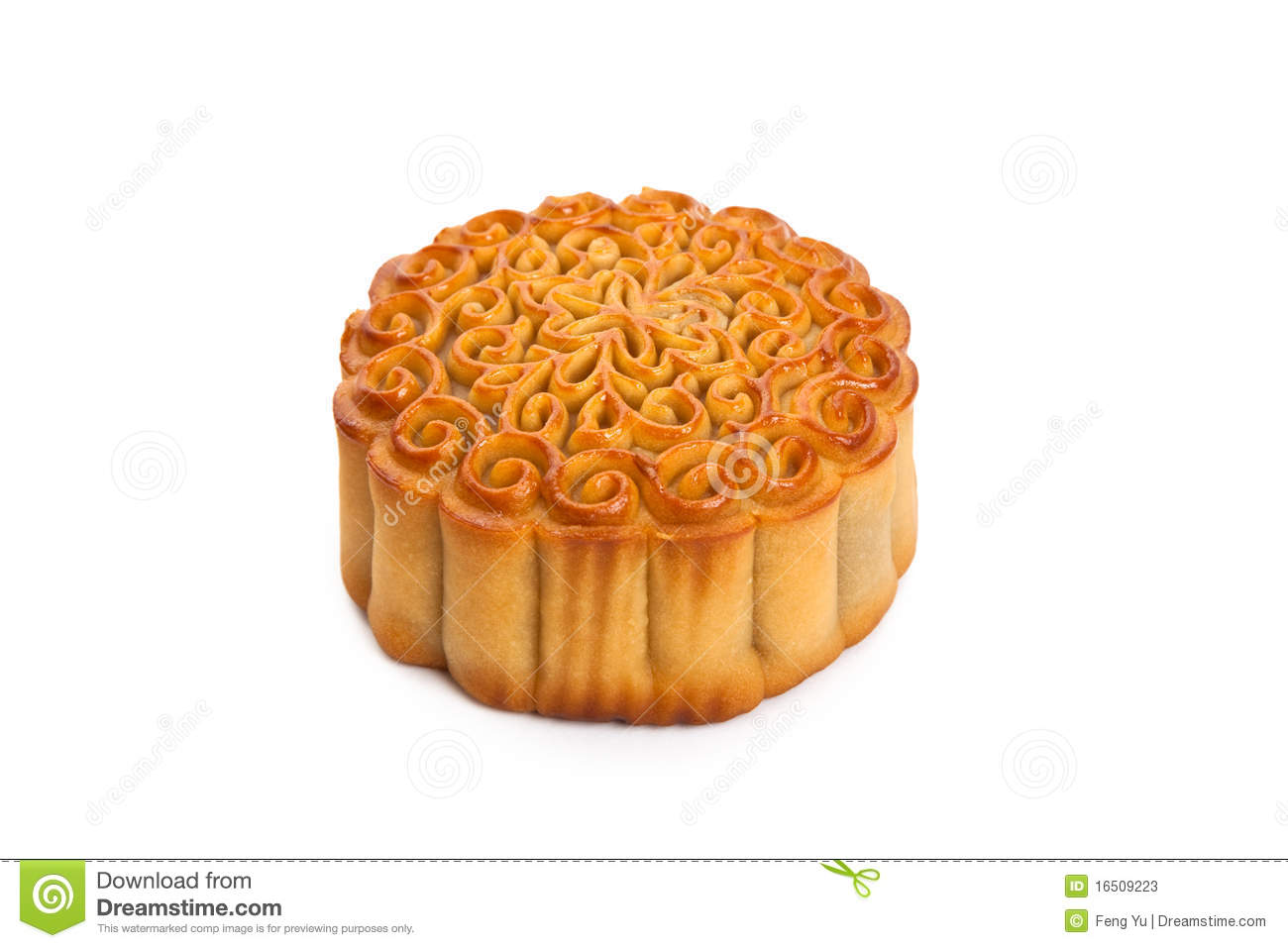 Lemon Moon Cake