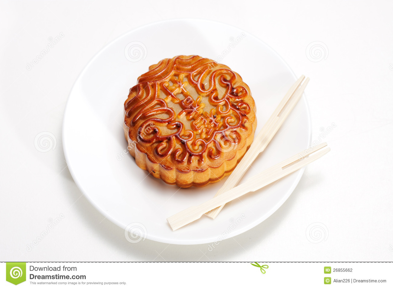 Moon Cake Stock Photography - Image: 26855662
