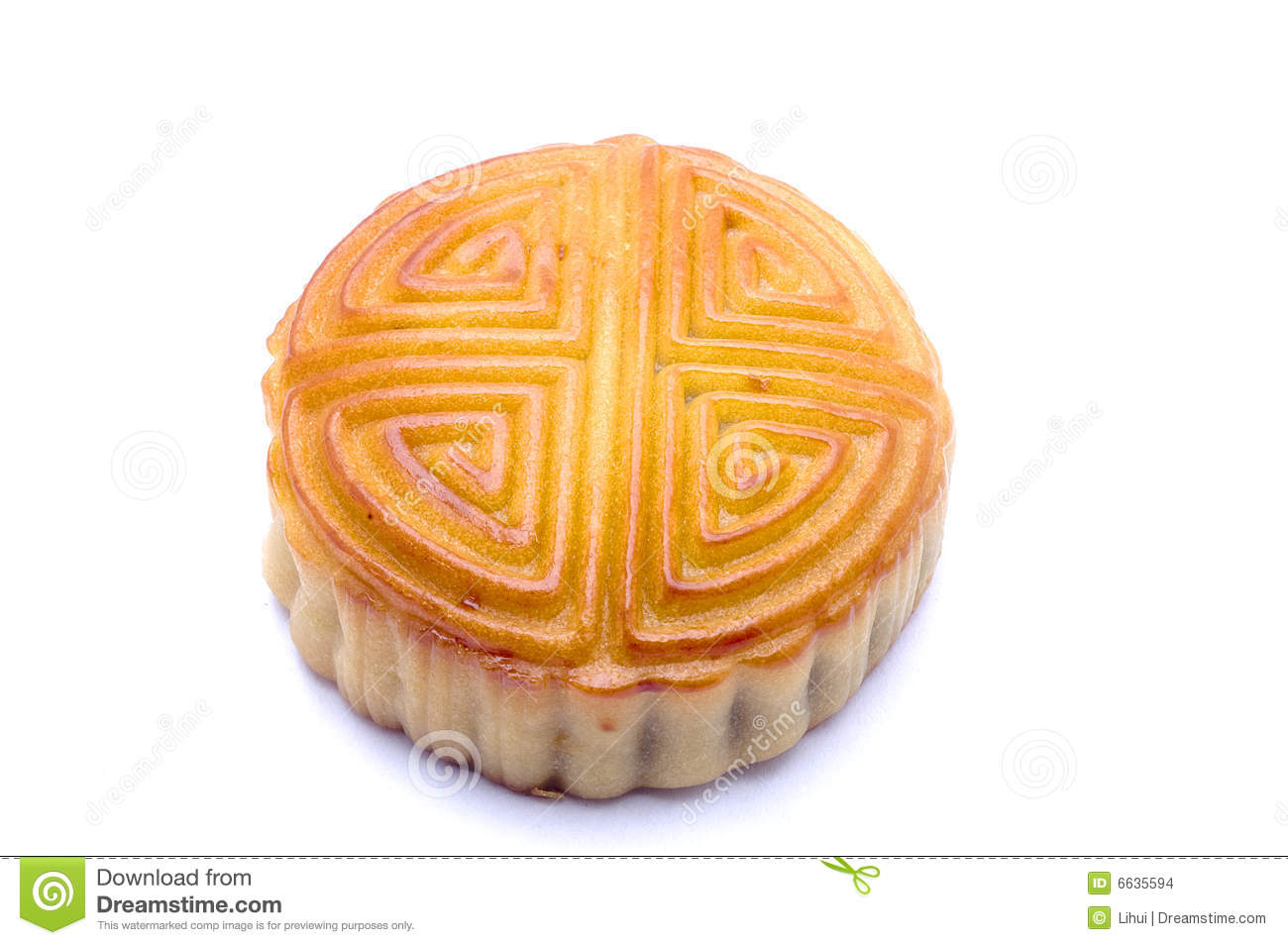 Moon Cake Stock Images - Image: 6635594