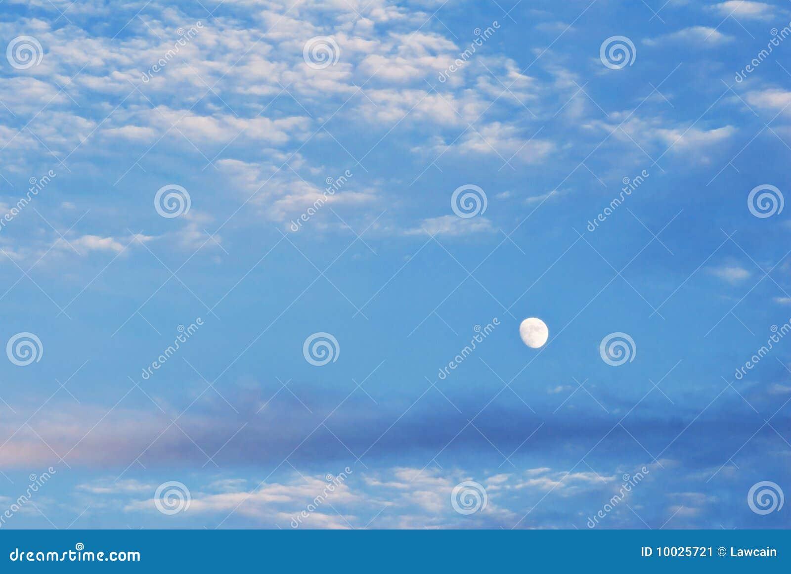 Moon in Cloudscape