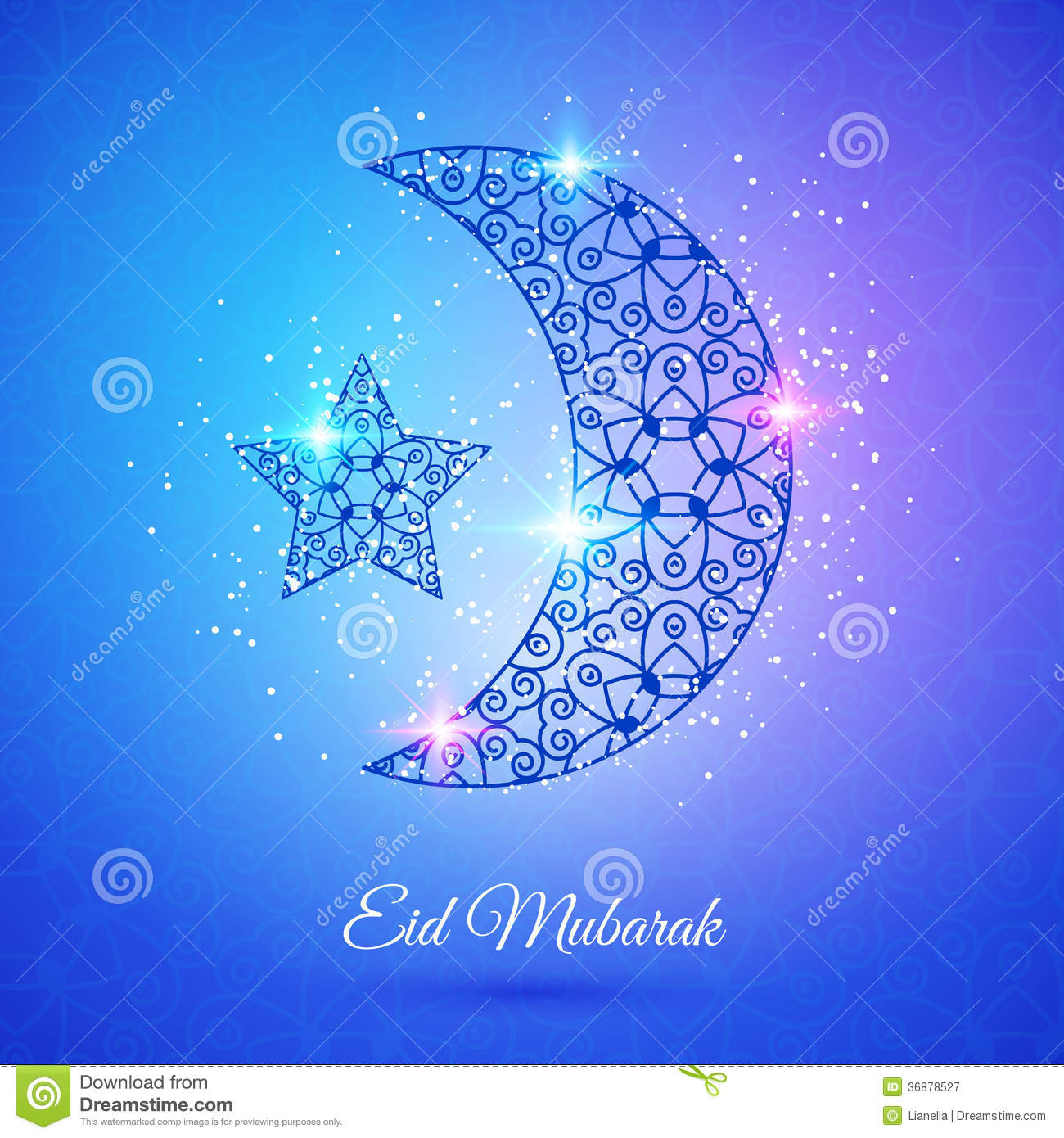 Moon for muslim community festival eid mubarak stock vector moon for muslim community festival eid mubarak kristyandbryce Image collections