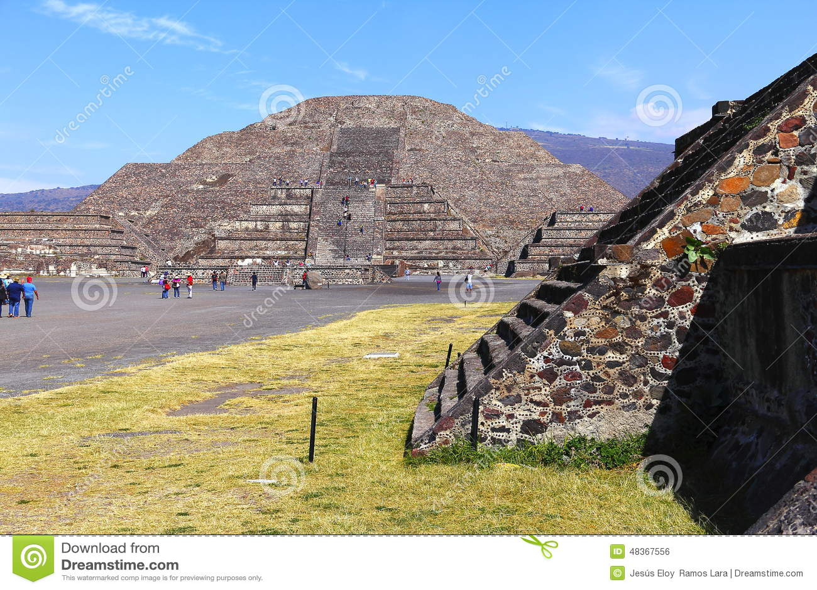 Moon pyramid VII, teotihuacan
