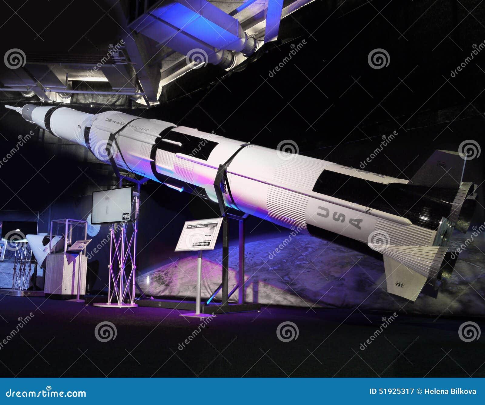 Moon Rocket Moon Exploration Astronautics Editorial