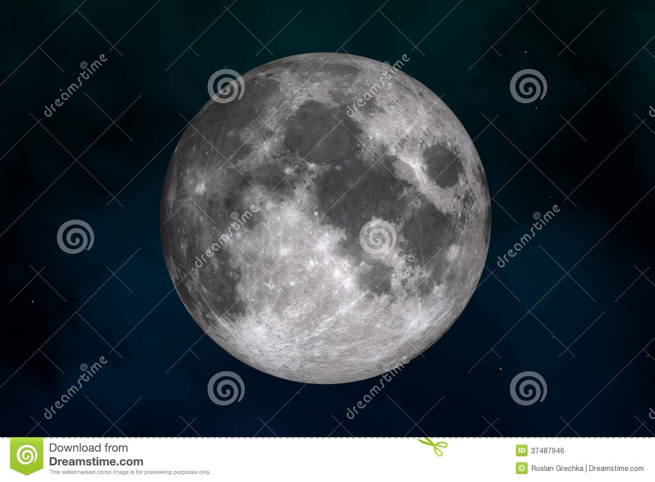 Moon royalty free stock image image 37487946 for Space created