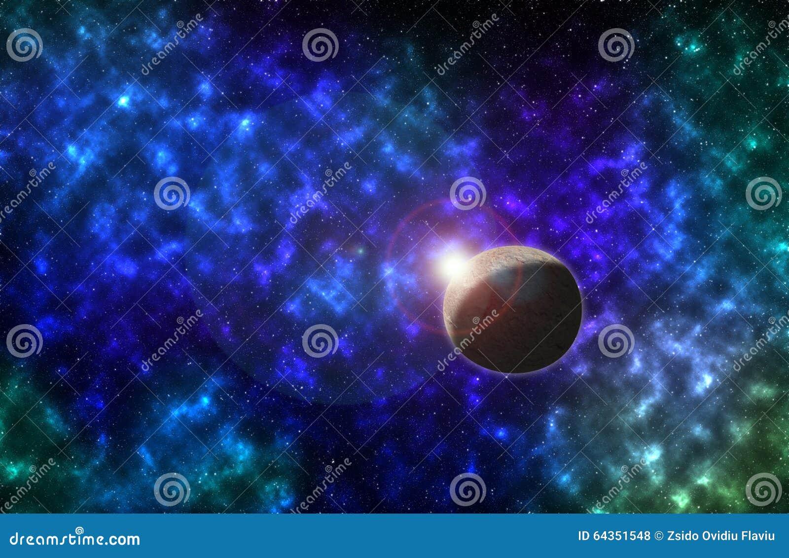 galaxies stars and moon - photo #22