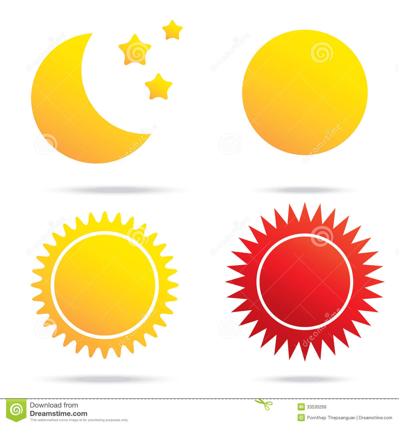 Moon sun and star symbol stock vector illustration of design 33530266 moon sun and star symbol biocorpaavc Images