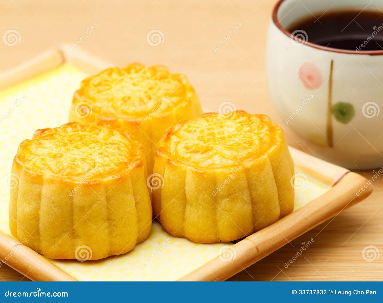 Mooncake и чай