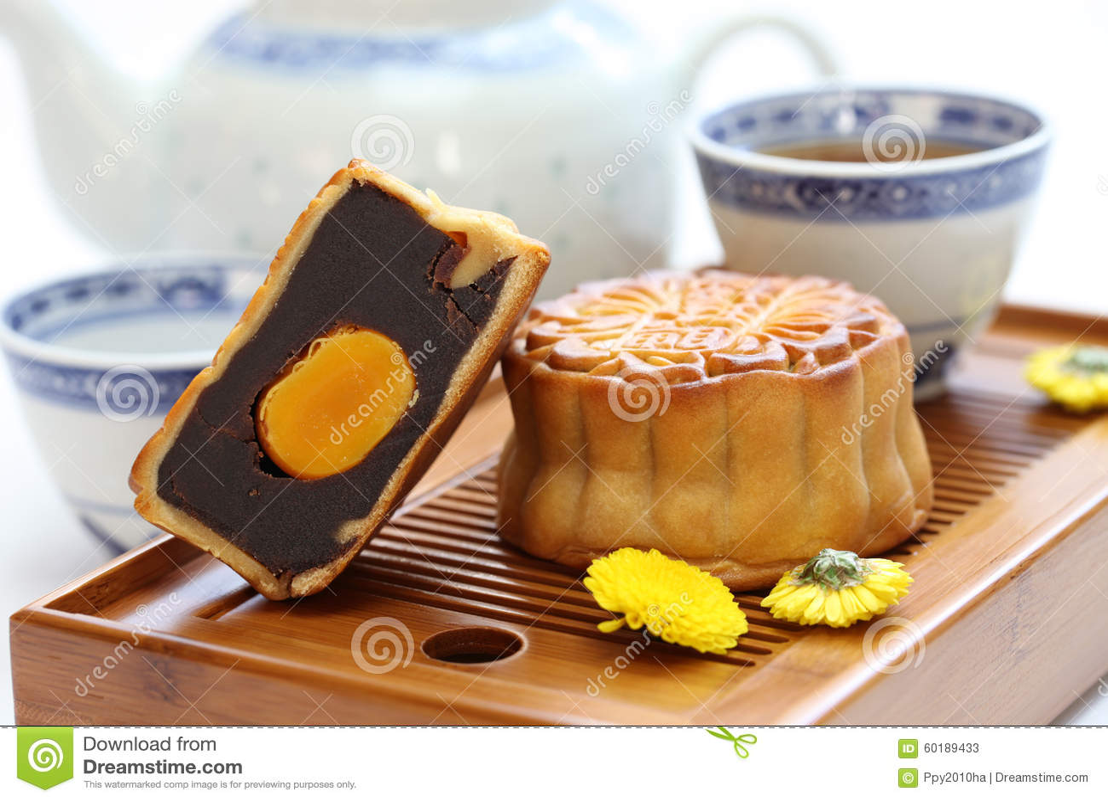Mooncake månekaka